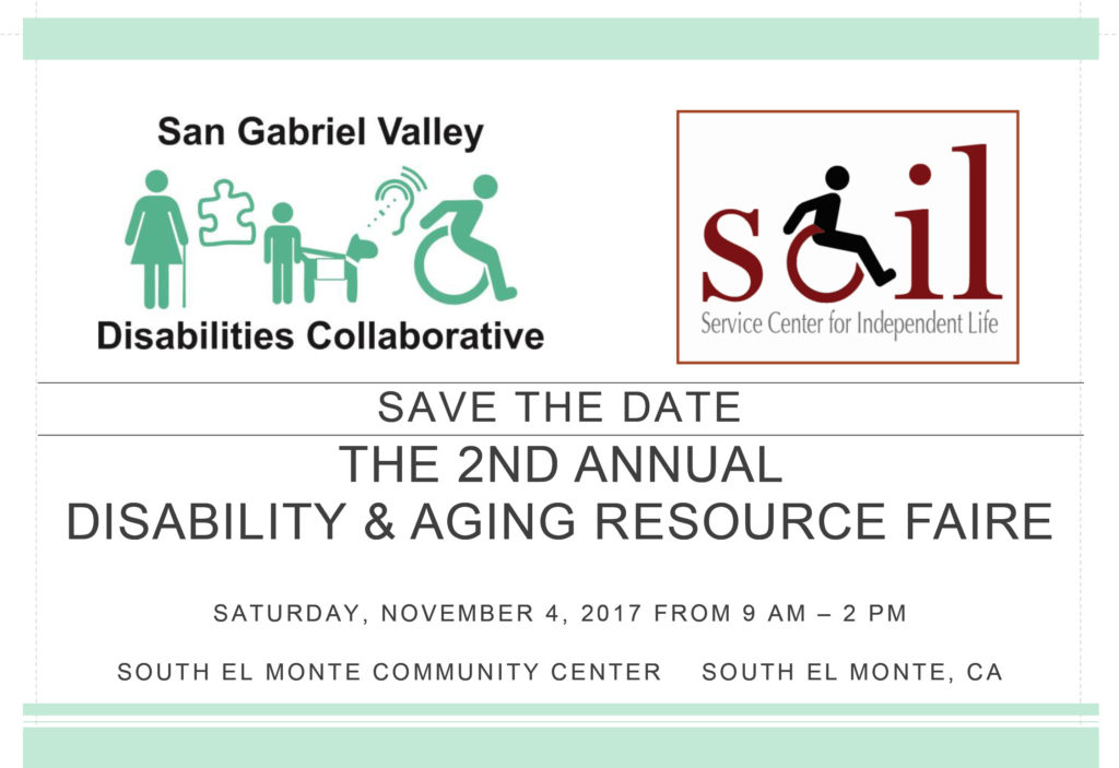 2017 Disability & Aging Resource Faire