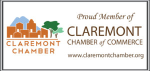 Claremont Chamber of Commerce Proud Member Logo